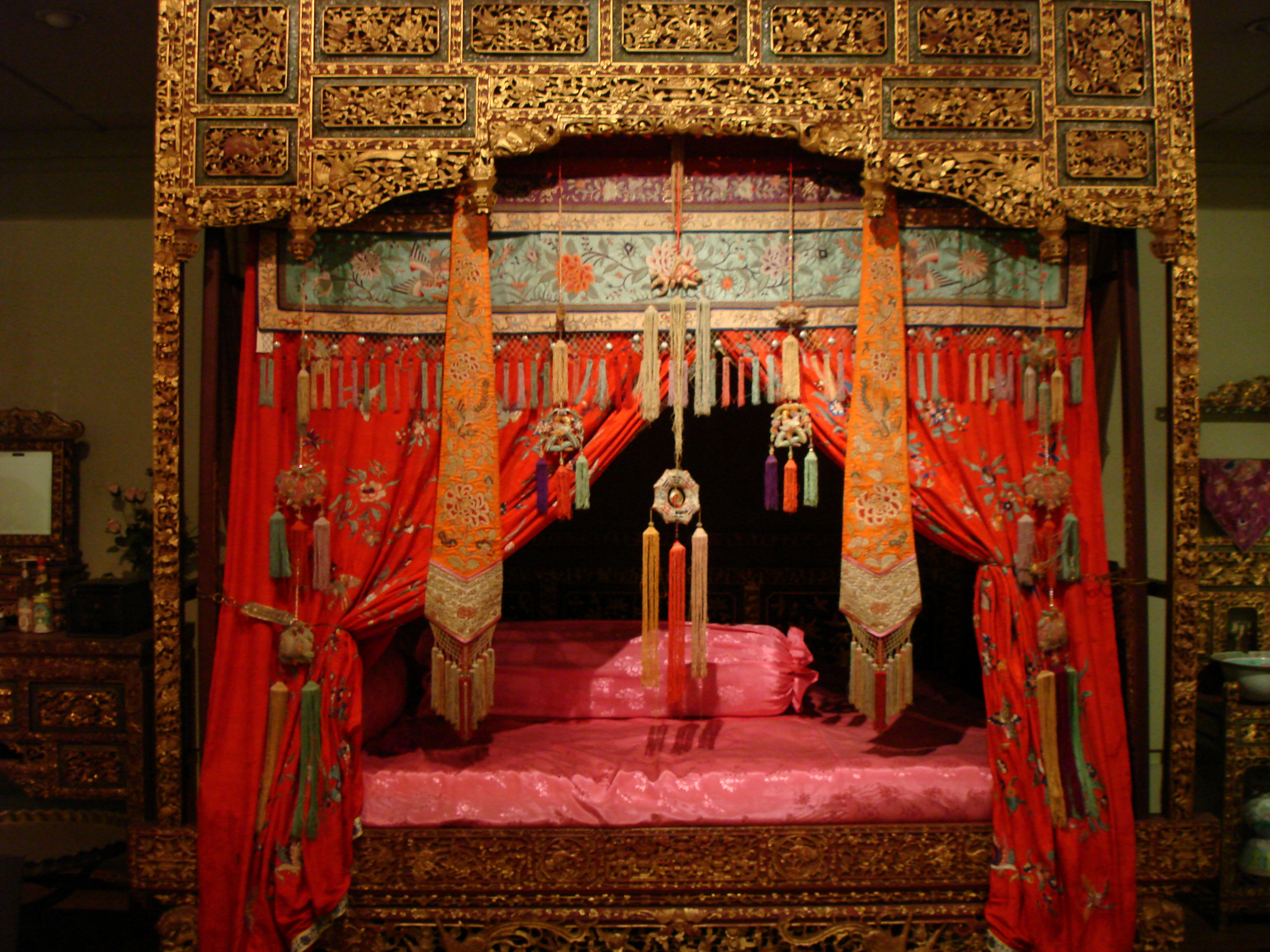 Traditional Chinese Wedding Bed An Asia Blog